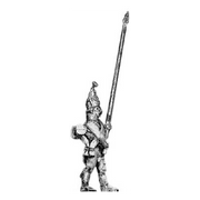 Grenadier standard bearer, mitre (18mm)
