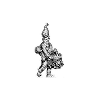 Grenadier drummer, mitre (18mm)