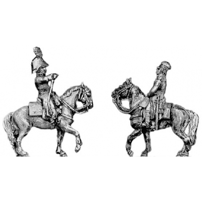 Mounted officer (18mm)
