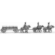 Foot artillery large caisson team (18mm)