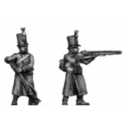 Jager, greatcoat, skirmishing (18mm)