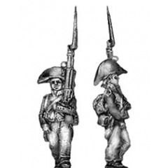 Fusilier, no great coat roll (18mm)