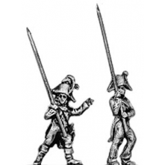 Line infantry standard bearer (18mm)