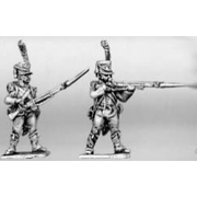 Light infantry, skirmishers (18mm)