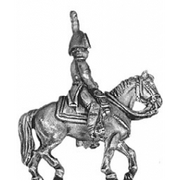 Mounted officer, bicorne (18mm)
