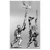 Enthusiastic infantry set, bicorne (18mm)