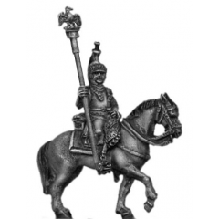 Cuirassier, eagle bearer (18mm)