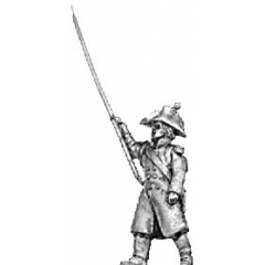 Standard bearer, greatcoat (18mm)