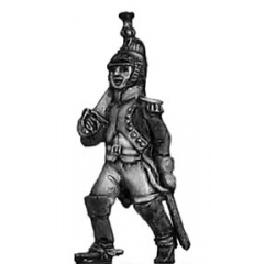 Marching Dragoon officer (18mm)