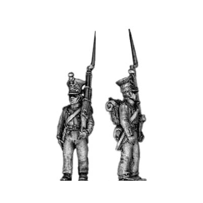 Fusilier, (czapka) march attack (18mm)