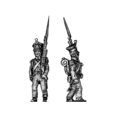 Grenadier, (czapka) march attack (18mm)