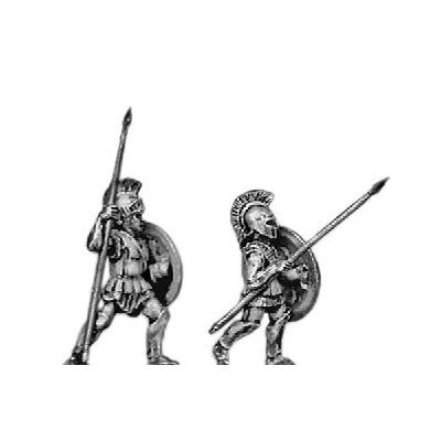 Rear rank hoplite (18mm)