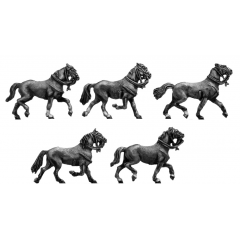 Light horse trotting (18mm)