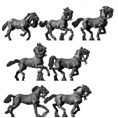 Light horse charging (18mm)