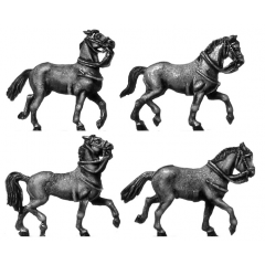 Heavy horse trotting (18mm)