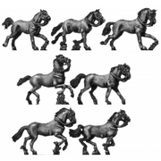 Heavy horse charging (18mm)