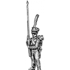 Standard bearer - for battalions without eagles (18mm)