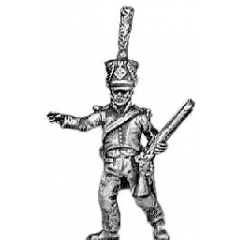 Voltigeur officer, with carbine (18mm)