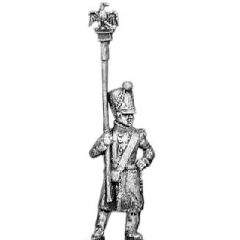 Eagle bearer, greatcoat (18mm)