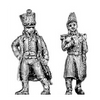 Officer, greatcoat (18mm)