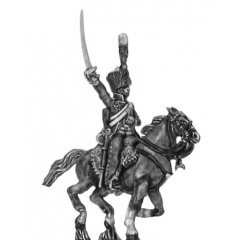 Elite chasseur, charging (18mm)