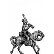Chasseur a Cheval trumpeter (18mm)