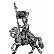 Chasseur a Cheval guidon bearer (18mm)