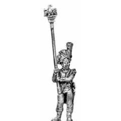 Grenadier of the Guard eagle bearer (18mm)