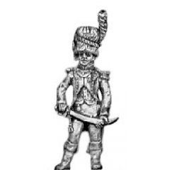 Chasseur of the Guard officer (18mm)