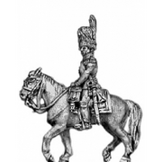 Guard officer, mounted (18mm)
