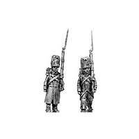 Chasseur of the Guard, greatcoat (18mm)