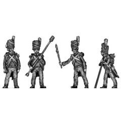 Foot artillery crew (18mm)