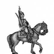 Empress Dragoon officer (18mm)