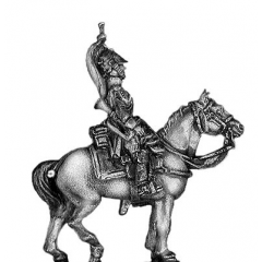 Empress Dragoon trumpeter (18mm)