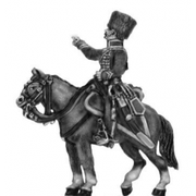 Chasseur a cheval de la garde - later uniform Officer (18mm)