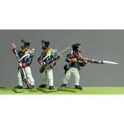 NEW - Young Guard, Waterloo 1815, skirmishing (18mm)