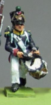 NEW - Young Guard, Waterloo 1815 drummer (18mm)