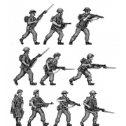 NEW - Tropical Infantry, trousers, shirt sleeves, advancing (20mm)