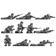 NEW - Tropical Infantry, trousers, shirt sleeves, prone (20mm)