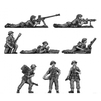 NEW - Tropical Infantry, trousers, shirt sleeves, Support 1 (20mm)