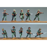 NEW - Burma Hats, advancing (20mm)