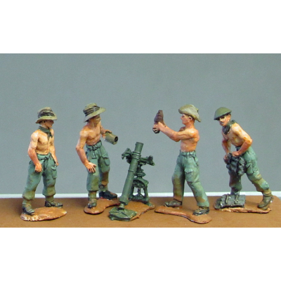 NEW - Burma Hats, mortars (20mm)