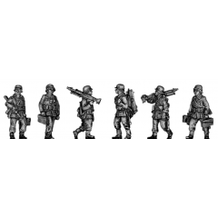 HMG section marching (20mm)