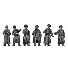 German Officers - greatcoat (20mm)