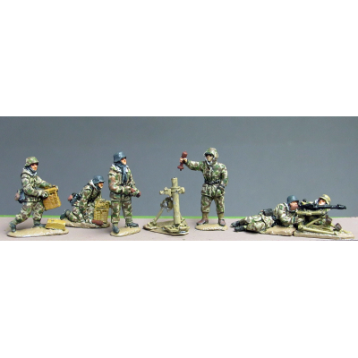 NEW - Winter Germans HMG and 8.0cm mortar (20mm)