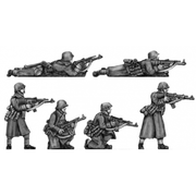 German Infantry, greatcoats with STGw44 (20mm)