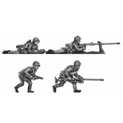 Helmets, PTRD A/T rifles set (20mm)