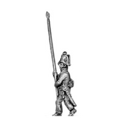 Musketeer standard bearer (18mm)