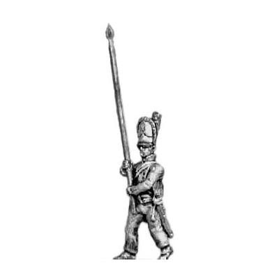 Grenadier standard bearer (18mm)