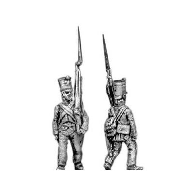 Fusiliers, marching (18mm)